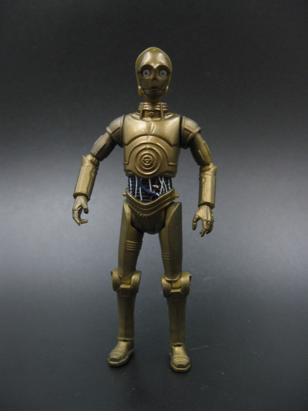 Hot ! Popular 3.75  action figure Star Wars C- 3po robot toy collection model toys Free  ...