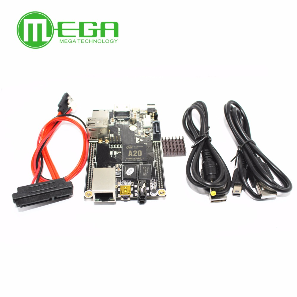 Image 3 - 1pcs PC Cubieboard A20 Dual core Development Board , Cubieboard2 dual core with 4GB Nand Flash-in Integrated Circuits from Electronic Components & Supplies