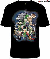 The Legend of Zelda T Shirt Unisex Cotton Funny Sizes Nintendo Link Video GameCheap wholesale tees,T shirt printing