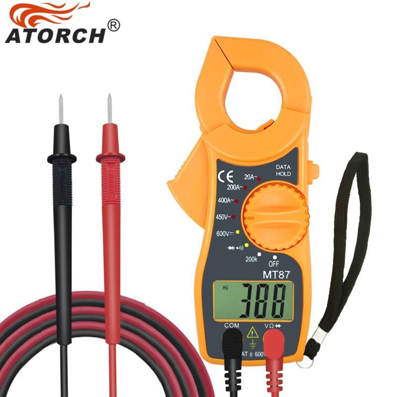 Using Digital Clamp Meter : Atorch digital clamp meter multimeter dc ac voltage