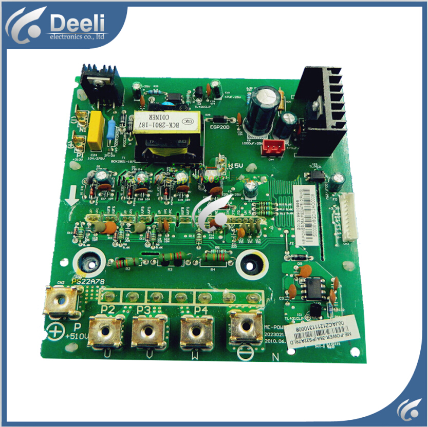 95% new good working for air conditioning board Frequency module board MDV-450(16)W/DSN1-830 35A  ME-POWER-35A (PS22A78)D  95% new good working for midea air conditioning computer board mdv d22t2 d 1 4 1 mdv d22t2 board