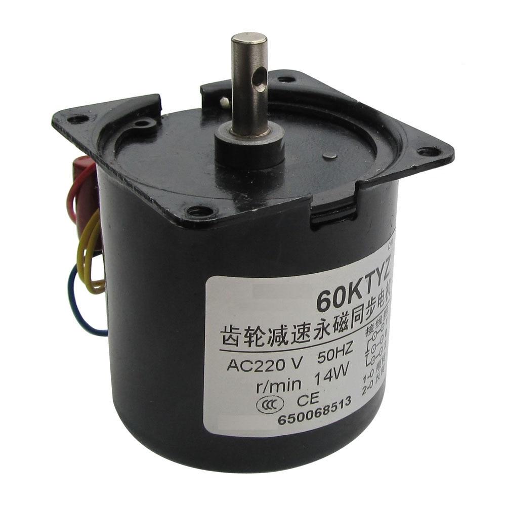 цена на new 60KTYZ gear synchronous motor micro motor / ac 30r / min 220V 14W