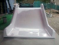 Big FRP Slide For 3D Interactive Projection Games For Kid Indoor Playground Projector Slide Playground