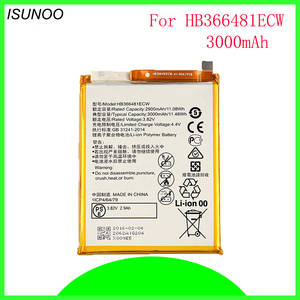 40pcs/lot HB366481ECW Battery For Huawei P9 G9 lite Battery 3000mAh  Batterie Bateria