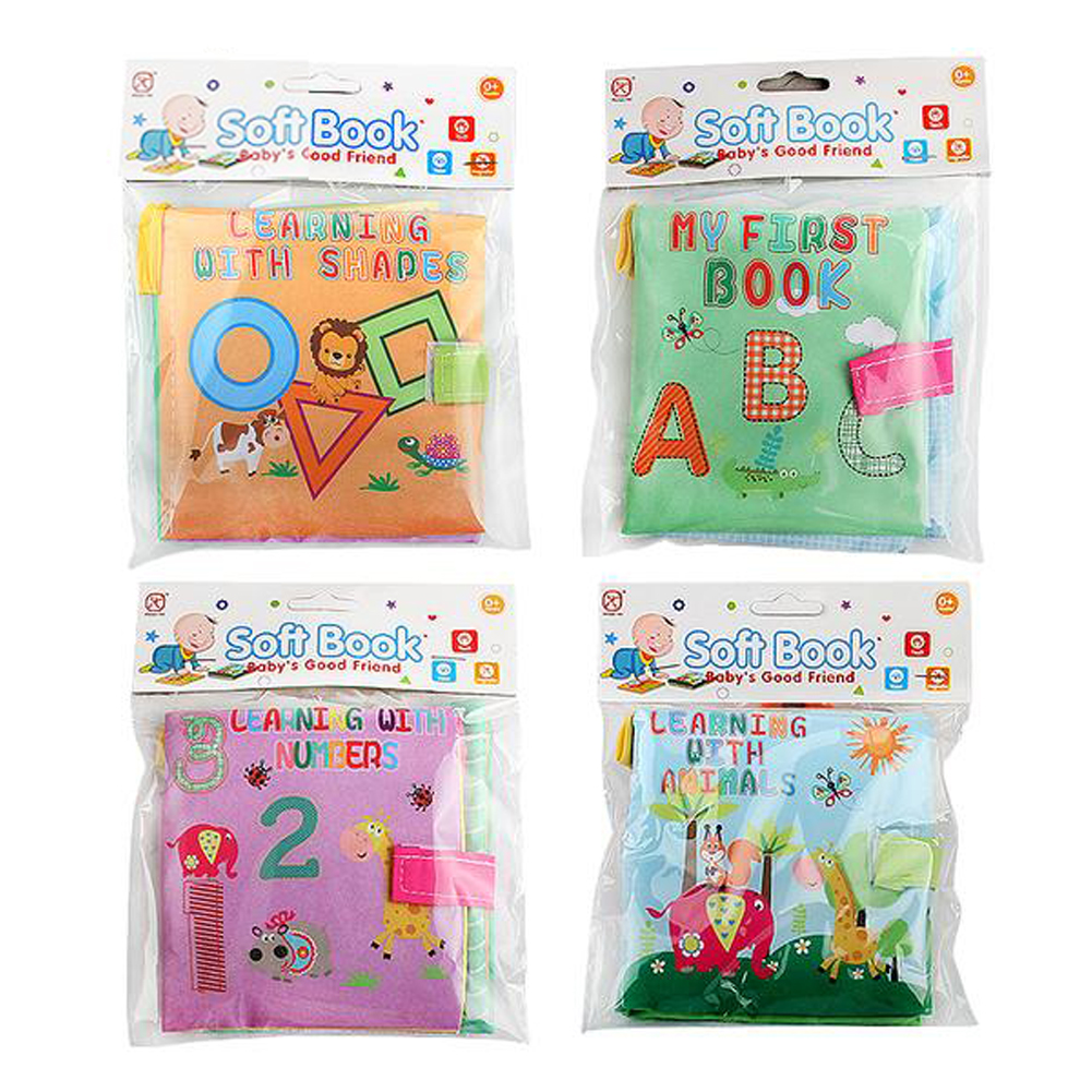4 Style Educational Baby Toys Rattles Soft Cloth Books Toys For Newborns Rustle Sound Stroller Crib Bed Baby Toy 0-36 Months 22