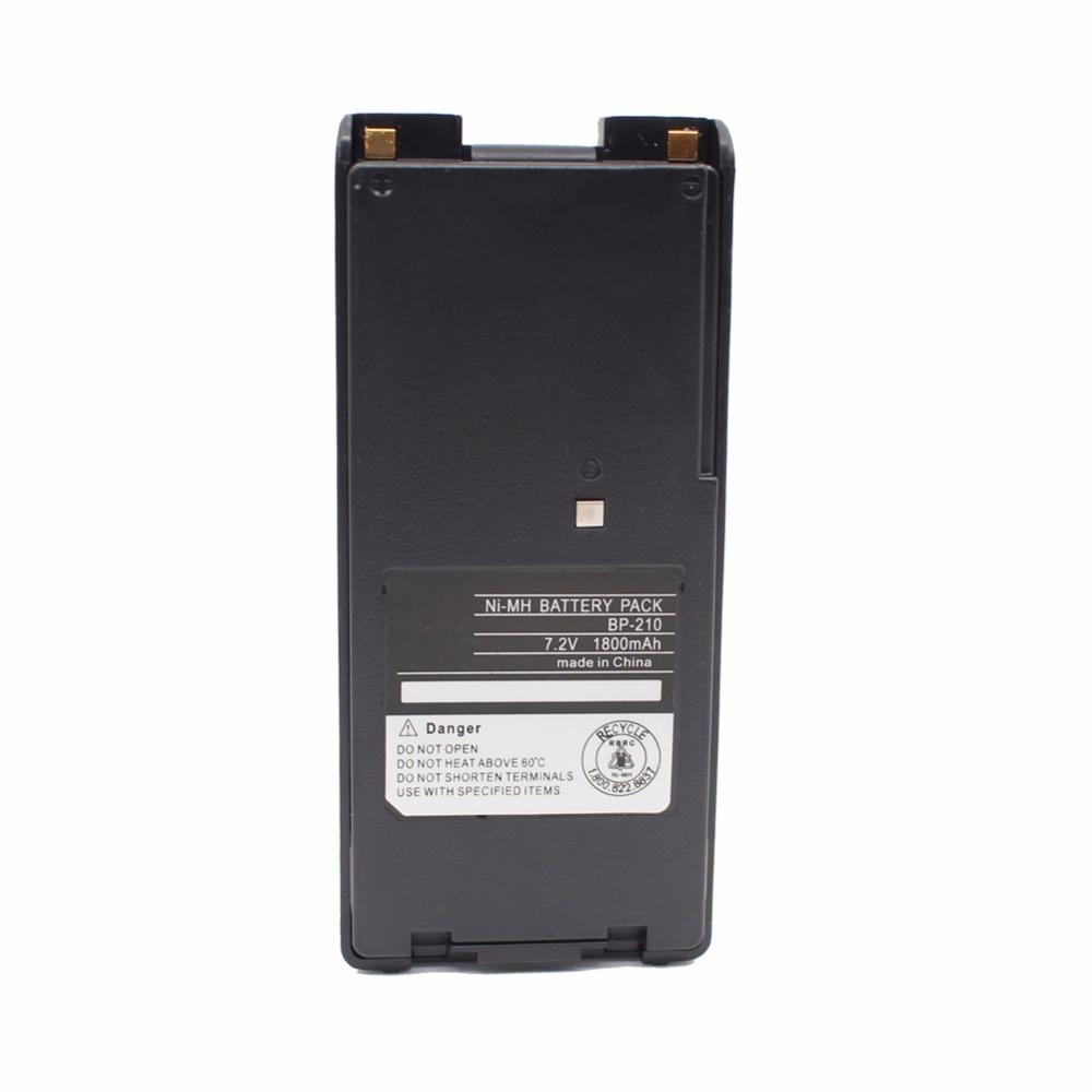 BP210 BP-210N BP-209 1800 mAh NI-MH batterie pour ICOM IC-V8 IC-V82 IC-A24 IC-A6 IC-F3G IC-F30 IC-F40 IC-F11 IC-F22 IC-F4G Radio