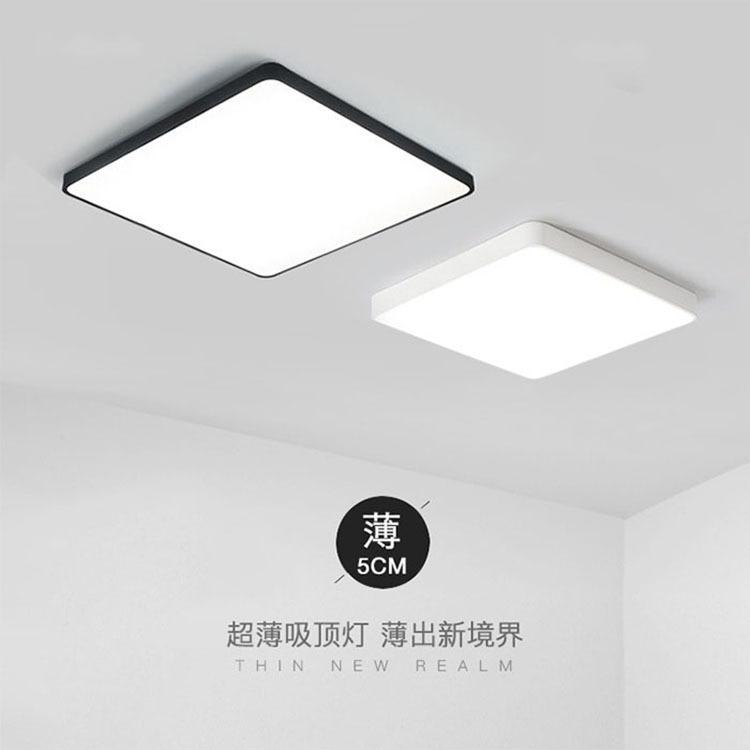 ultra fino pratico 5 cm levou teto lampadas 04