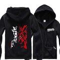Anime Uzumaki Naruto hoodies men zipper  and sweatshirts hip hop  bape hoodie streetwear tracksuit