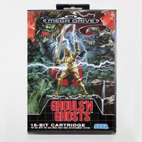 Ghouls 'N Ghosts in Retail Box - Sega Mega Drive For Genesis