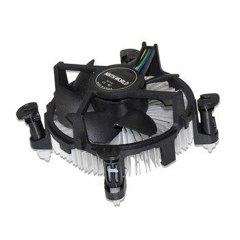 Socket 1150/1155/1156 4-Pin Connector CPU Cooler With Aluminum Heatsink & 3.5
