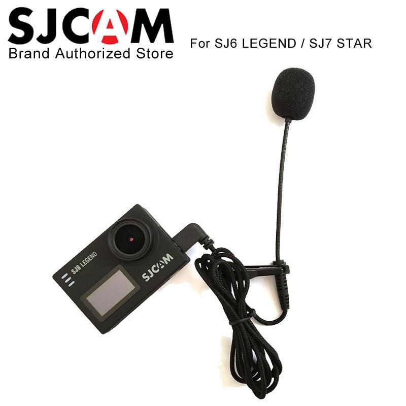 Original SJCAM Brand External Microphone MIC for SJCAM SJ6 LEGEND SJ7 Star SJ360 Sports Action Camera