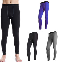 NEW menTrainning & Exercise Pants Winter Sport Training Long Pants Quick Drying Perspiration Wicking Running Trouser Leggings