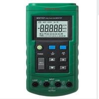 Mastech MS7221 Volt/mA Voltage Current Calibrator Source/Output Step DC 0 10V 0 24mA Tester Meter
