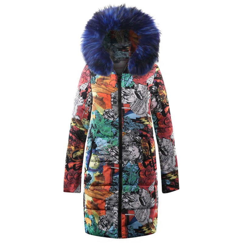 Cotton Winter Women Coat Warm Outdoor Female Jacket Cotton-padded Clothes Nation Wind Coat