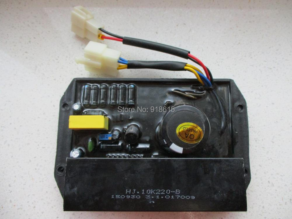 цена на HJ.10K220-B AVR AUTOMATIC VOLTAGE REGULATOR SINGLE PHASE GENERATOR PARTS
