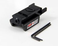 Mini Red Dot Laser Sight / Hunting Airsoft Compact Laser Designator With Mount For Pistol Air Gun Rifle free shipping