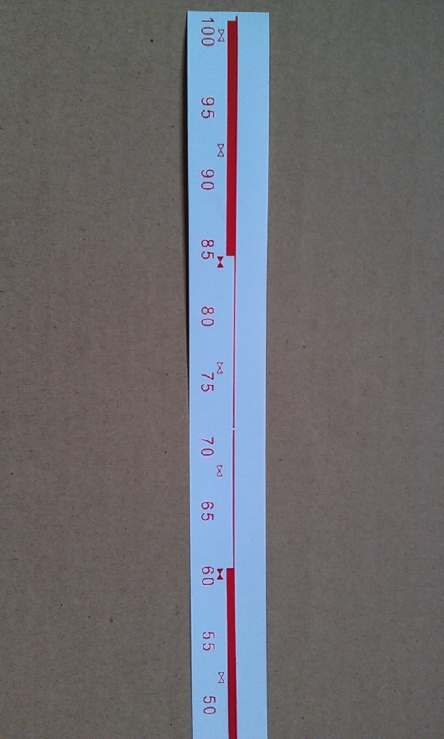 10PCS for Brother spare parts Brother Sweater knitting machine accessories 8 series host ruler
