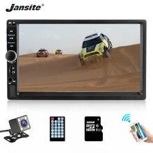 Jansite автомобильный Радио MP5 плеер цифровой сенсорный экран TF карта Автомобильный мультимедийный плеер зеркало 2din автомобиль Авторадио + резервная камера