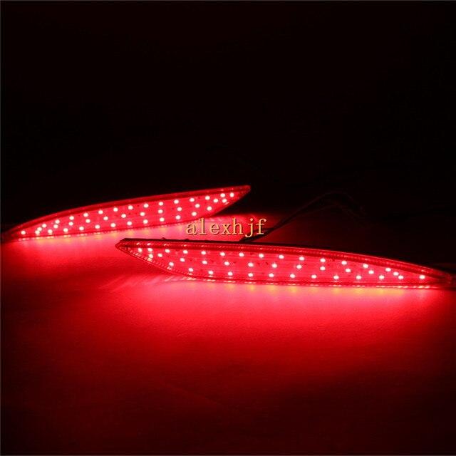 Caso Varthion LEVARAM Luzes De Freio para Hyundai sonata, 1 pair, Luzes de freio + Turn Signal Luzes + Correndo Luzes de Advertência, 3 em 1