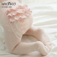 KACAKID Girl Stockings Tights Sweet Lace Pattern Baby Girls Cotton Anti-slip Lolita Kids ka1128