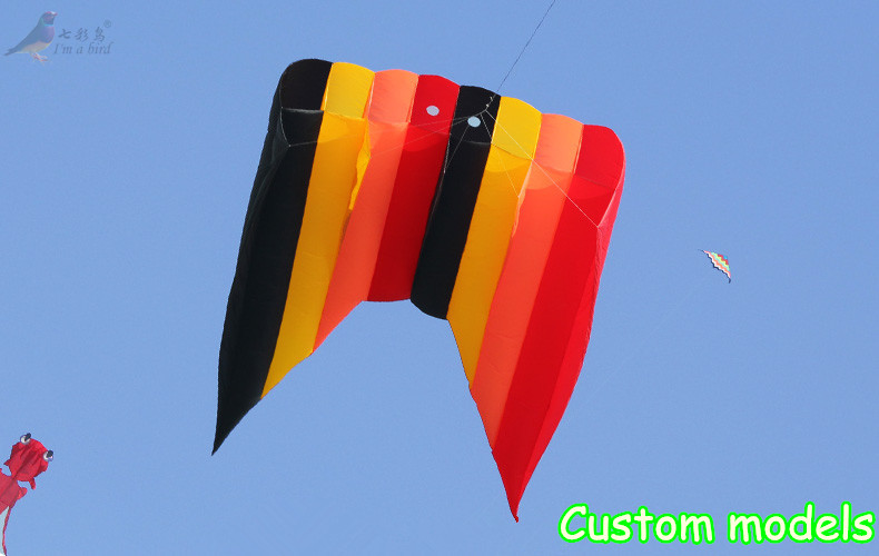 Free Shipping Outdoor  Fun Sports  Power  Software Piloting Kite Ripstop Nylon Good Flying Factory Outlet