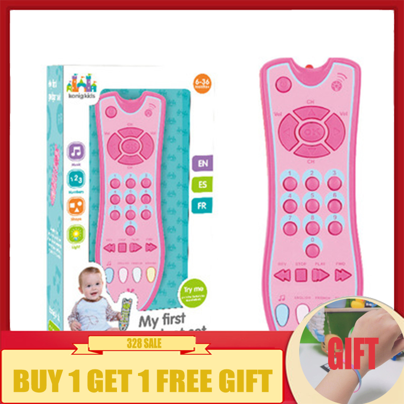 Baby Rattle Mobile Singing Toys TV Remote Control Baby Phone Electric Numbers Music Phone Toy Educational Toys For Children Gift