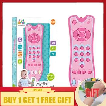 Educativos Control Niños Remoto Sonajero Eléctricos Bebé Móvil Teléfono Música Juguetes Canto Números Para De Tv eWDbE29IHY