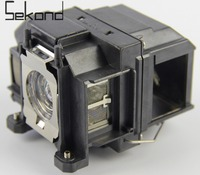 SEKOND ELPLP67 V13H010L67 Replacement Lamp With Housing For EPSON EB SXW11 EB S11 EB X11 EB