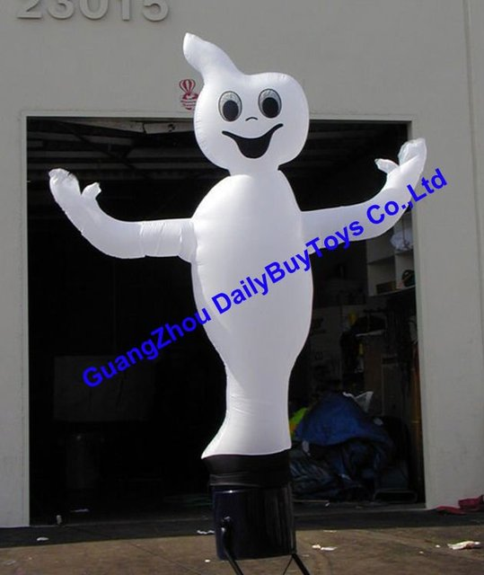 AD22 DHL & Inflatable Ghost Air dancer Halloween sky dancer 10ft-26ft  3m-8m High & Free Strong Rope 100% positive feedback