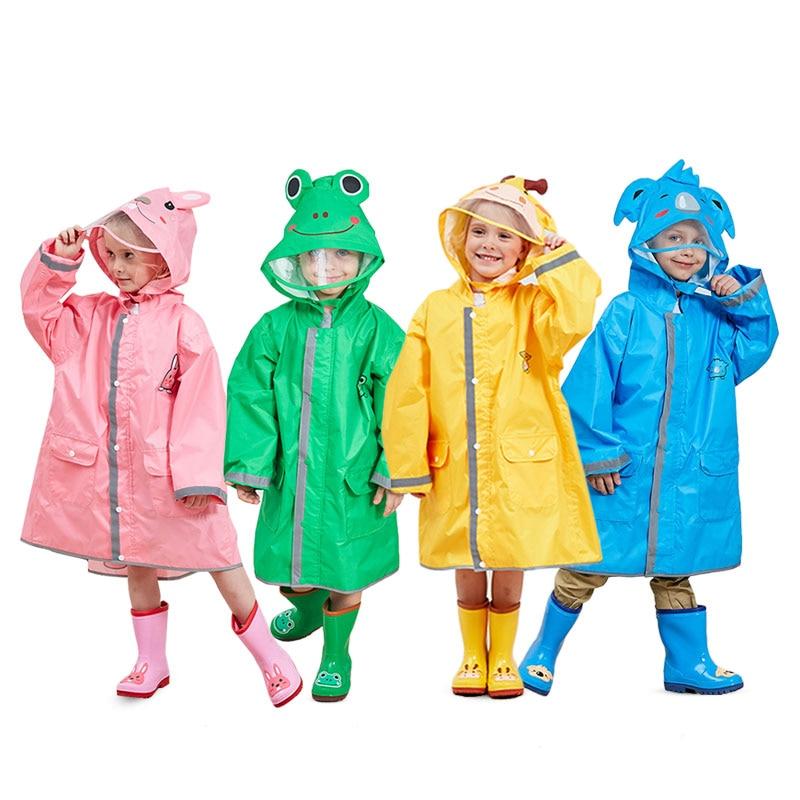074f82ef87c3 Children Raincoat Poncho Boys and Girls Kids Cute Cartoon Poncho Owl ...
