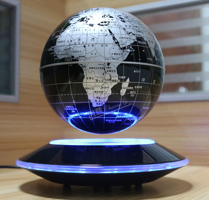 Perfect 2014 New LED 8 Inch Electronic Rotation Magnetic Levitation Globe Crafts  For Office Decoration UFO Gift Teacher Amusing Gift On Aliexpress.com |  Alibaba ...