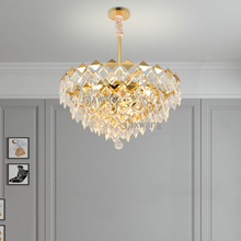 Nordic Pendant Light Lustre Crystal Simple Living Room Hanglamp Lighting Decor Lamp  Bedroom Lights Luminaire
