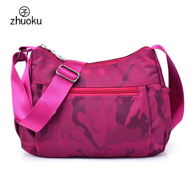 Crossbody bags for women Free shipping,ladies Beach Hobos Shoulder bags Good quality nylon,Women messenger bags handbag ZK785