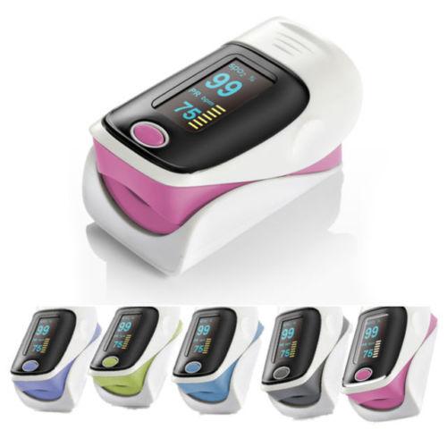 Marke Oximeter Finger Oximetro De Pulso de dedo Pulsioximetro tensiometro OLED Digitale Impuls Spo2 FDA medizinische Sicher zu Tür