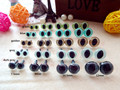 100pcs safety eyes cat colorful 7.5mm/9mm/10.5mm/12mm come with washers 10pairs for each color