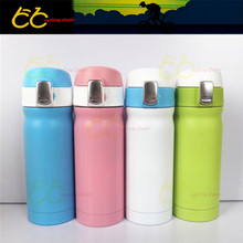 Sports Bike Bicycle Cycling Water Bottle Cup Stainless Steel Vacuum Flask 350ML free shipping