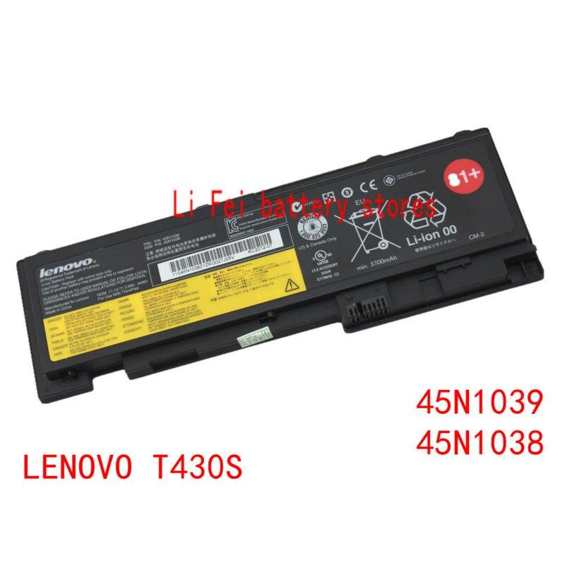 Original Genuine Laptop Batteries for lenovo Thinkpad T430S T420S Batteries 45N1039 45N1038-in ...