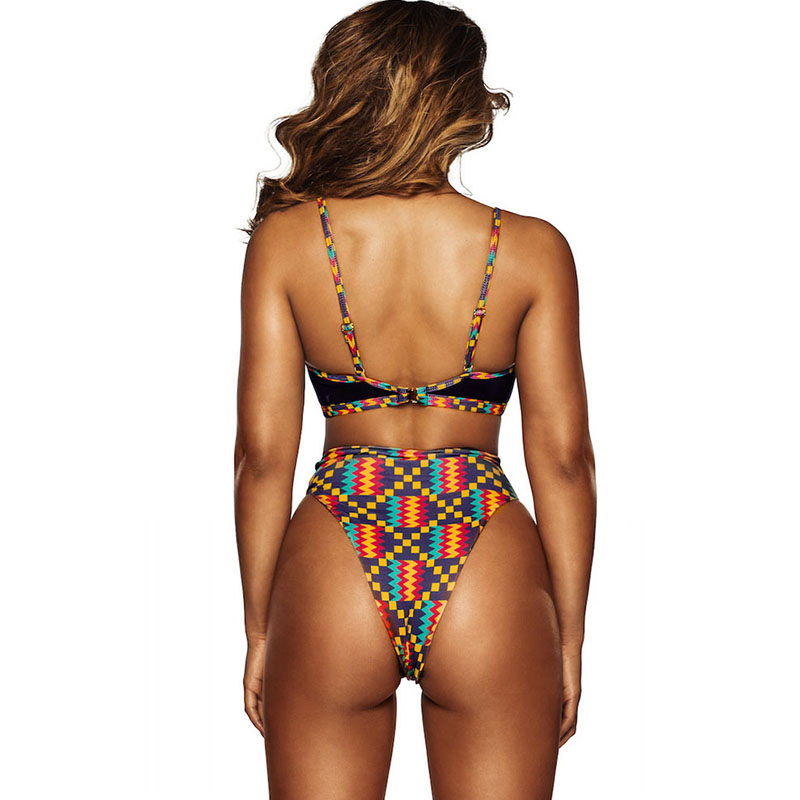Dark-Multicolor-Geometric-Print-Cut-out-High-Waist-Swimsuit-LC410104-2-2