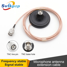 TNC Microphone Antenna Extension Cable for Professional Wireless System Signal Amplifier External