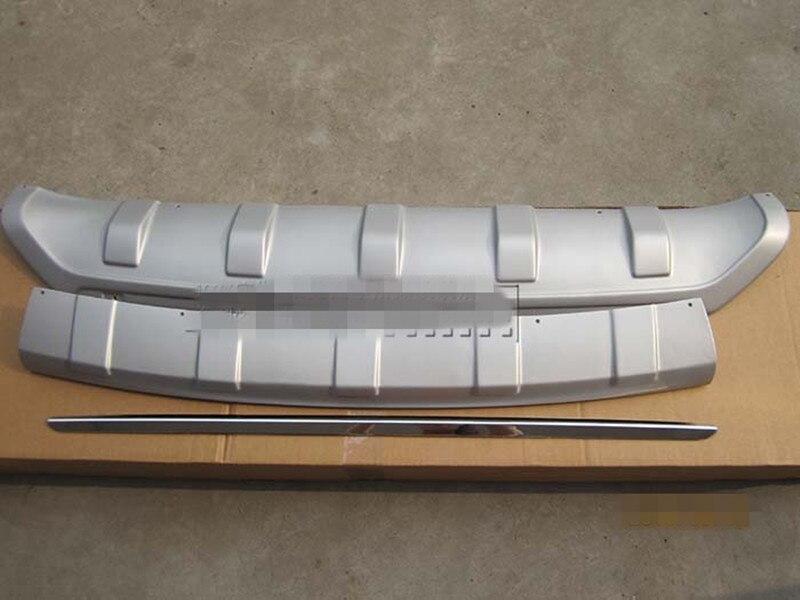 ABS avant et Pare-chocs arrière Protecteur Plaque de protection couverture fit pour hyundai IX35 2010-2012 Auto pièces