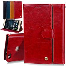 Phone Case For Huawei Ascend P9 Lite Wallet Leather Stand Design Mobile Cover Cases