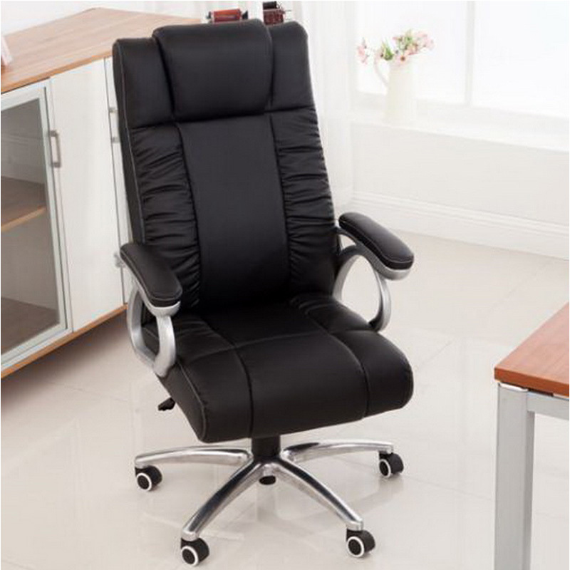 office lounge chair boss brown black color meeting room chai