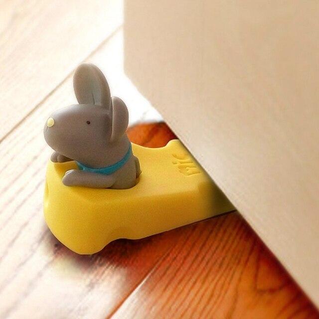 Клин дверь останавливается милый мультфильм милый мыши дверь пробка ребенок безопасности дверной стоппер