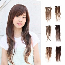 "Women Clip In 100% Human Hair Long Hair Extensions Wig "" 20″ "" 24″ Big Sale"