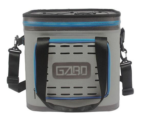 Picnic Cooler Bag 24can Square Soft Pack Outdoor Ice Bag