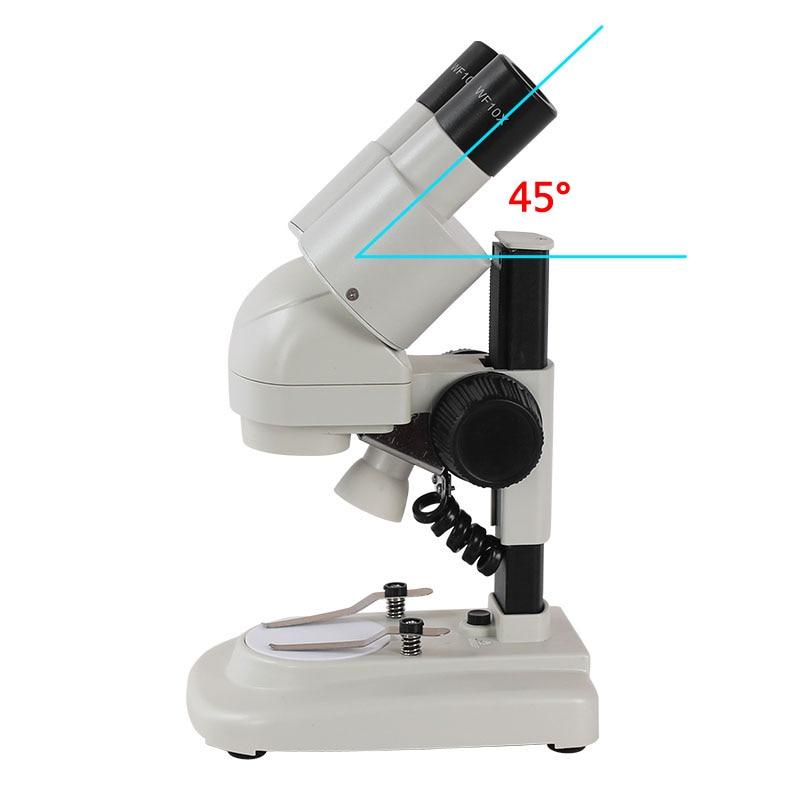 AOMEKIE 20X / 40X microscopio stereo binoculare visione HD top - Strumenti di misura - Fotografia 5