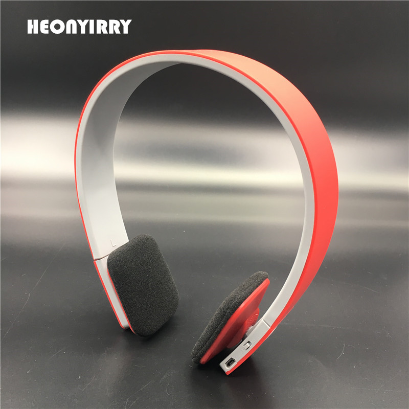 Wireless Headphones Stereo Bluetooth Headset V4.1 + EDR Headband Intelligent Voice Navigation Headphones for IOS Android Phones