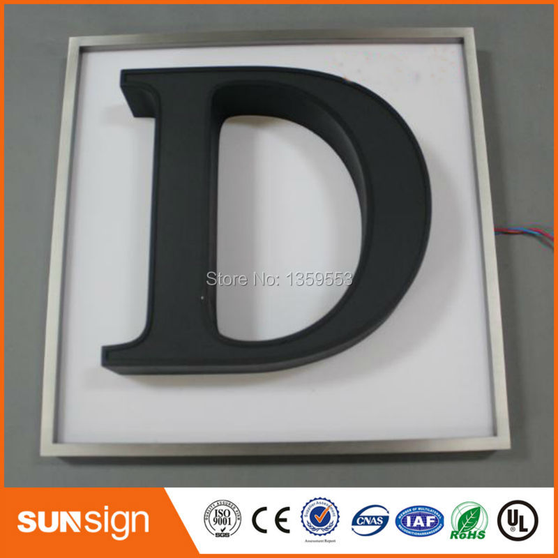 Metal Letters Led Signage Channel Letters Sign