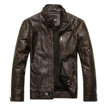 Motorcycle Leather Jackets Men Spring Winter Leather Jackets Male Business Leisure Coats Brand New Faux Leather Fur Coat Suede