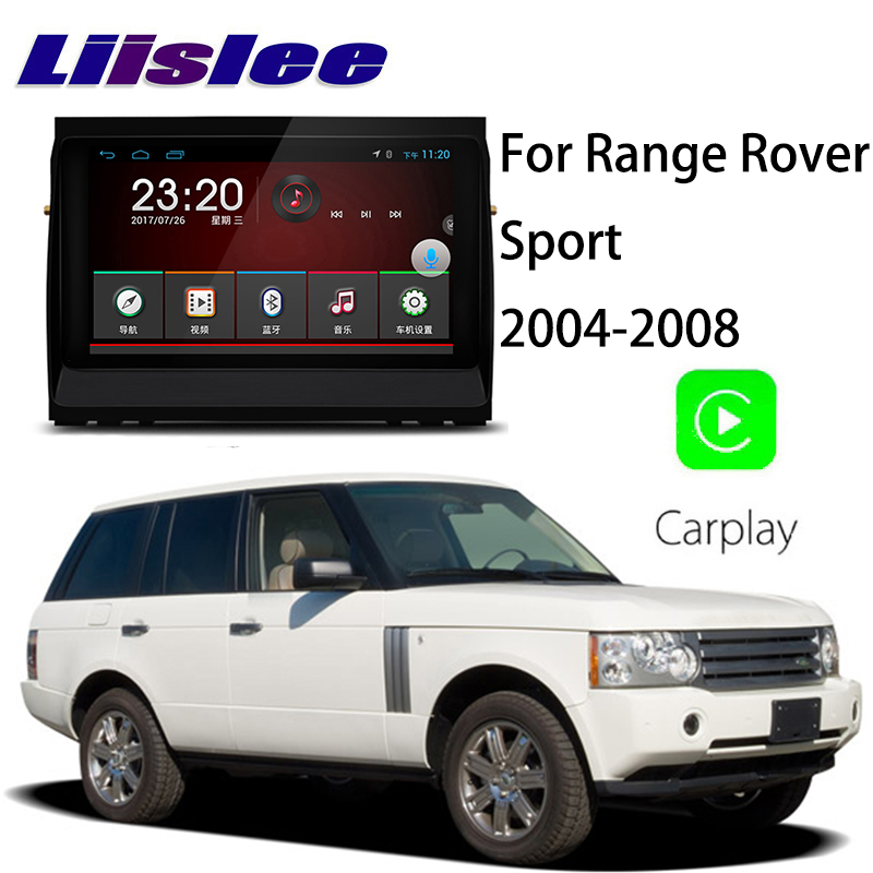 Liislee Car Multimedia Player NAVI For Land Rover Range Rover Sport L320 2004~2008 Car Radio Stereo GPS Navigation